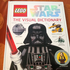 Lego Star Wars The Visual Dictionary With Exclusive Luke Skywalker Figure New