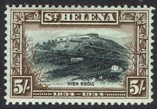 ST HELENA 1934 CENTENARY 5/-