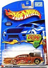 Hot Wheels 055 '59 Chevy Impala, 2002 Wild Frontier 1/4, Race & Win, Mint