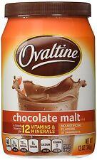 Ovaltine Chocolate Malt 12 oz - Free Shipping