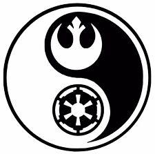 Rebel Alliance/Galactic Empire Car Decal / Sticker