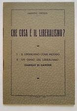 L7> CHE COSA E' IL LIBERALISMO ?  DI DANIELE CRUSIO
