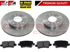 FOR HONDA CIVIC 2.0 TYPE R GT FN2 2006-2011 REAR BRAKE 260mm SOLID DISCS & PAD