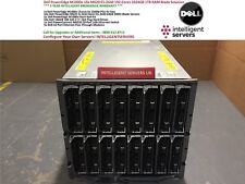 Dell PowerEdge M1000e 16x M620 E5-2640 192-Cores 1024GB 1TB RAM Blade Solution