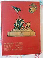 Marine Corps Recruit Yearbook-1976-Platoon 336-Parris Island-South Carolina VTG