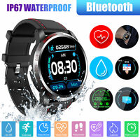 Sport Smart Watch Heart Rate Monitor Blood Pressure Waterproof For iOS Android