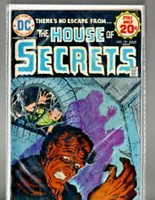 """vintage DC comic """" The HOUSE of SECRETS # 121 """" bagged & boarded"""