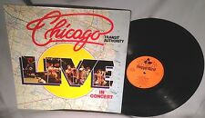LP CHICAGO Live In Concert HOLLAND IMPORT NEAR MINT