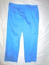 NEW! $89  Alex marie 24W cotton spandex pants RN106409 blue womens plus size