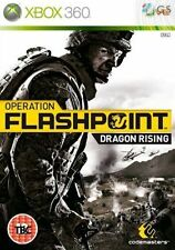 Xbox 360 Operation Flashpoint Dragon Rising **New & Sealed** Xbox One Compatible
