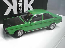 AUDI 80 MKI mk1 GT/E sport berline 1975 - 1978 vert t Métal KK 1/1500 1:18