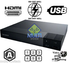 SONY BDP-S1700 Region Free Blu-Ray DVD Disc Player, BD ZONE A ONLY, DVD:0-9, USB