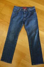 PIERRE CARDIN Herrenhose Jeans DEAUVILLE Blau Stretch W34  L32 TOP!