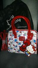 Hello Kitty Classic White Crossbody Bag.BNWT!LOUNGEFLY