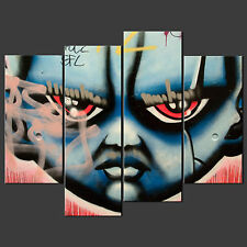 GRAFFITI FACE CANVAS WALL ART PICTURES PRINTS LARGER SIZES AVAILABLE