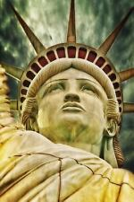 Close up of Statue of Liberty Journal : 150 Page Lined Notebook/Diary by C....