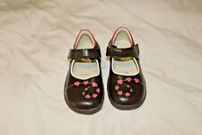 See Kai Run girls brown mj shoe size 12 EUC