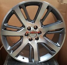 22 Wheels Gray Mch Rims Fit Cadillac Escalade EXT ESV Yukon Silverado Sierra 24