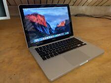Macbook Aluminum Late 2008 4GB C2D 250GB macOS Nvidia 9400M