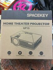 spacekey  DBPOWER GP15 Mini Portable Multimedia Home Theater LED Projector...