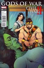 Civil War II Gods of War #2 (of 4) Torque Var   NEW!!!