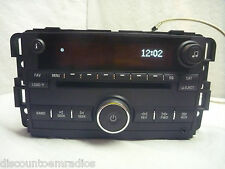 2007 2008 2009 Suzuki Grand Vitara XL7 Radio 6 Cd Player & Aux 25887904 Bulk 607