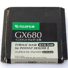Fuji GX680 III Polaroid Back Mask 645, boxed, mint (for Instant Holder II) 14384