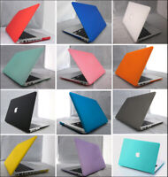 """2in1 Matte Rubberized Hard Case+Keyboard Cover For Macbook Air Pro 11"""" 13"""" 15"""""""