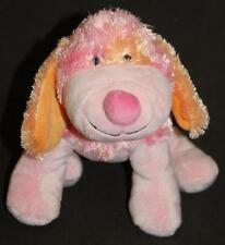 "Pink Punch Cheeky Dog Ganz Webkinz 9"" Plush Stuffed Animal  Lovey No Code Toy"