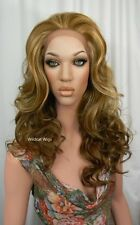 HEAT OK .. LACE FRONT Sienna Wig from Sepia . GORGEOUS!  GF8642 HOT Color Mix! *