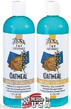 Top Performance Pet Natural OATMEAL Shampoo&Conditioner SET Dog Cat Grooming