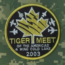 NTM NATO TIGER MEET TIGER SQN COLLECTIONS: NTM 2003 Cold Lake Canada