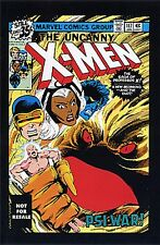 UNCANNY X-MEN 117 GIVEAWAY PROMO RARE 2nd PRINT VARIANT NM PROMOTIONAL NOT RESAL