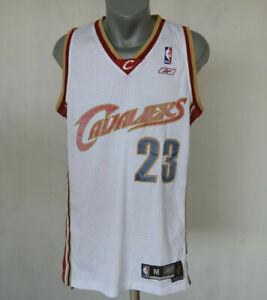 Cleveland Cavaliers Jersey LeBron James 23 Reebok Shirt Size M NBA Vintage