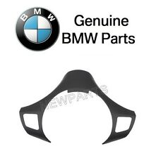BMW E90 325i 325xi 330i 330xi Black Steering Wheel Cover Genuine 32 30 6 767 211