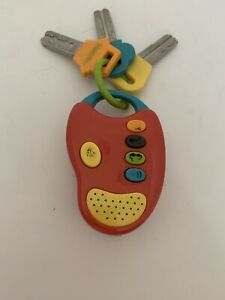 Battat Parents Magazine Children's Car Keys with Light & Sounds FREE SHIPPING