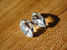 Herkimer Diamond Crystal, Matched Pair of Water Clear NY Mineral Specimen SALE