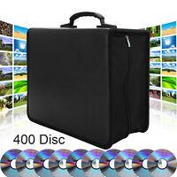 400 Disc CD DVD Organizer Holder Storage Case Bag Wallet Album Media Video USA