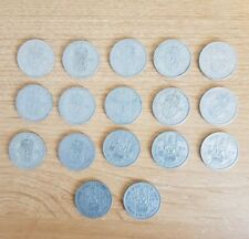 17  Old Scottish Shilling Coins  - Circulated