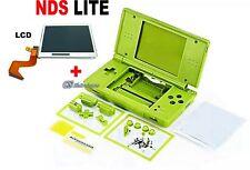 Schermo Display Lcd Superiore+ Scocca cover verde per Nintendo NDS DS Lite NDSL