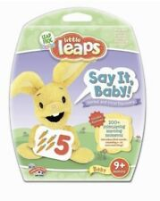 LeapFrog Little Leaps Say It Baby Interactive learning dvd 9+ months Free Ship