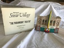Dept 56 The Original Snow Village The Paramount Theater #5142-0