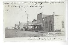 Hannaford, North Dakota, Main Street RPPC
