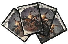 4  UNMAKE TEXTLESS Promo DCI x4 NM Magic INGLES Playset MTG