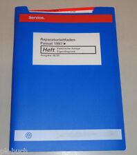 Werkstatthandbuch VW Passat B5 Elektrische Anlage Elektrik Eigendiagnose 06/1999