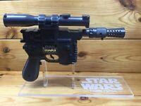 Vintage Kenner 1978 Star Wars DL-44 Han Solo Blaster Pistol Complete with Stand