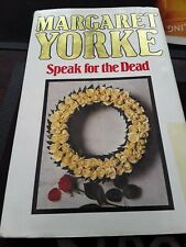 Margaret Yorke SPEAK FOR THE DEAD Hardback with Dustwrapper The Leisure Circle ☆