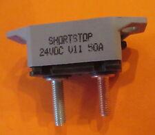 SHORT-STOP BUSSMANN 50A AMP CIRCUT BREAKER W/ PLASTIC BRACKET also for Snow Plow