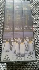 THE LIFE OF BIRDS - DAVID ATTENBOROUGH TRIPLE PACK BRAND NEW SEALED VHS VIDEO'S