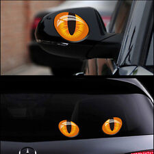 33D Cat's Eye Car Sticker Funny Smart Mini Cooper Rear Mirror Car Vinyl Decal